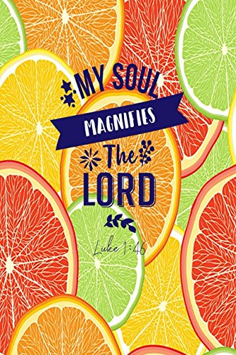 Download Luke 1:46 My soul magnifies the Lord: Bible Verse Quote Cover Composition Notebook Portable ebook