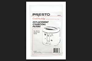 Presto 3 Replacement Filters For Cool Daddy Fryer for Cool Daddy Fryers models numbers 05444 and 05445