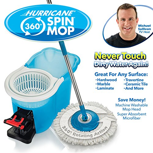 Hurricane Spin Mop Home Cleaning System By Bulbhead Floor
