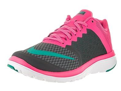 b52216c5a4f5 Nike Women s Fs Lite Run Running Shoe Black Drk Grey Clr Jd Pnk Blst White  6.5 B(M) US  Amazon.in  Shoes   Handbags