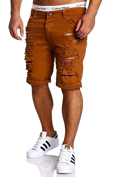 DSJJ Hombre Cargo Shorts Pantalones Cortos Bermudas Laboral ...
