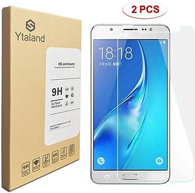 2 Pack] Samsung Galaxy J5 (2016) SM-J510G Protector de Pantalla ...