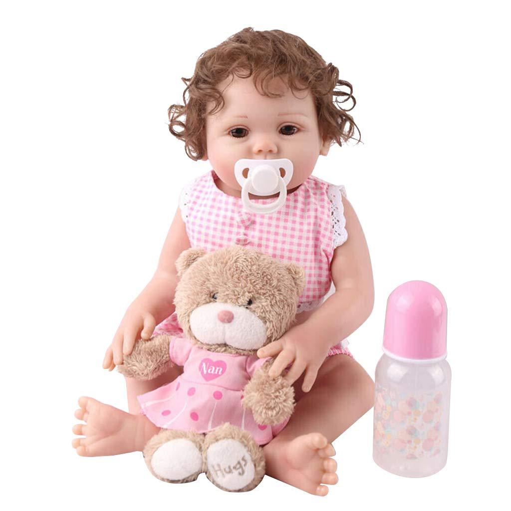 Muñeca realista de bebé de 19 pulgadas de vinilo de silicona ...