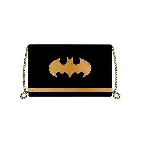 Batman monedero logo de señora 19x11,7x2,5cm con cadena ...
