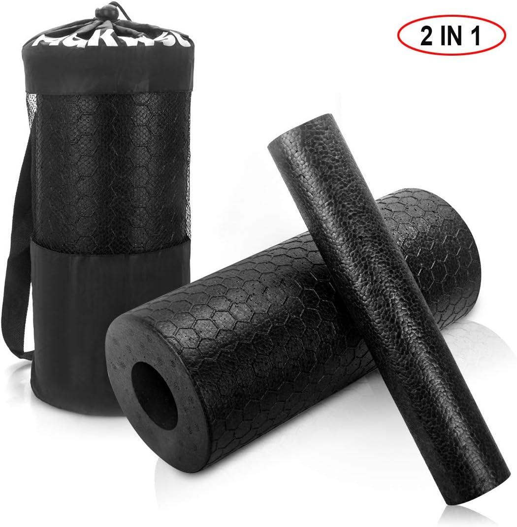 Adkwse 2-in-1 Foam Roller