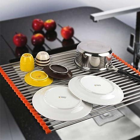 Extra Large Dish Drying Rack Impressive Amazon Extra Large RollUp Dish Drying Rack Multipurpose Over