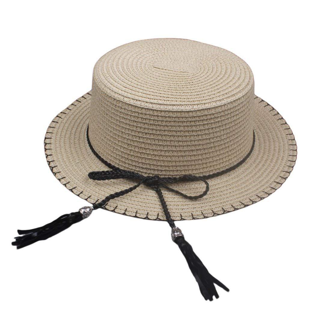 Wide Brim Hat Summer Beach Sun Hats for Women UPF Woman Floppy Travel UV Straw Hat