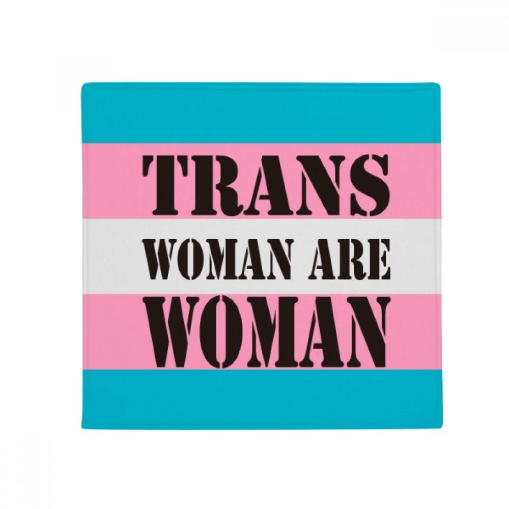DIYthinker Trans Woman Support LGBT Transgender Anti-Slip Floor Pet Mat Square Home Kitchen Door 80Cm Gift