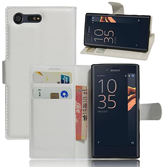 100% authentic 35136 8e26a Amazon.com: JARNING Sony Xperia X Compact F5321 Case Leather Wallet ...