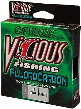 Vicious 250/Yard Test Fluorocarbon Angelschnur
