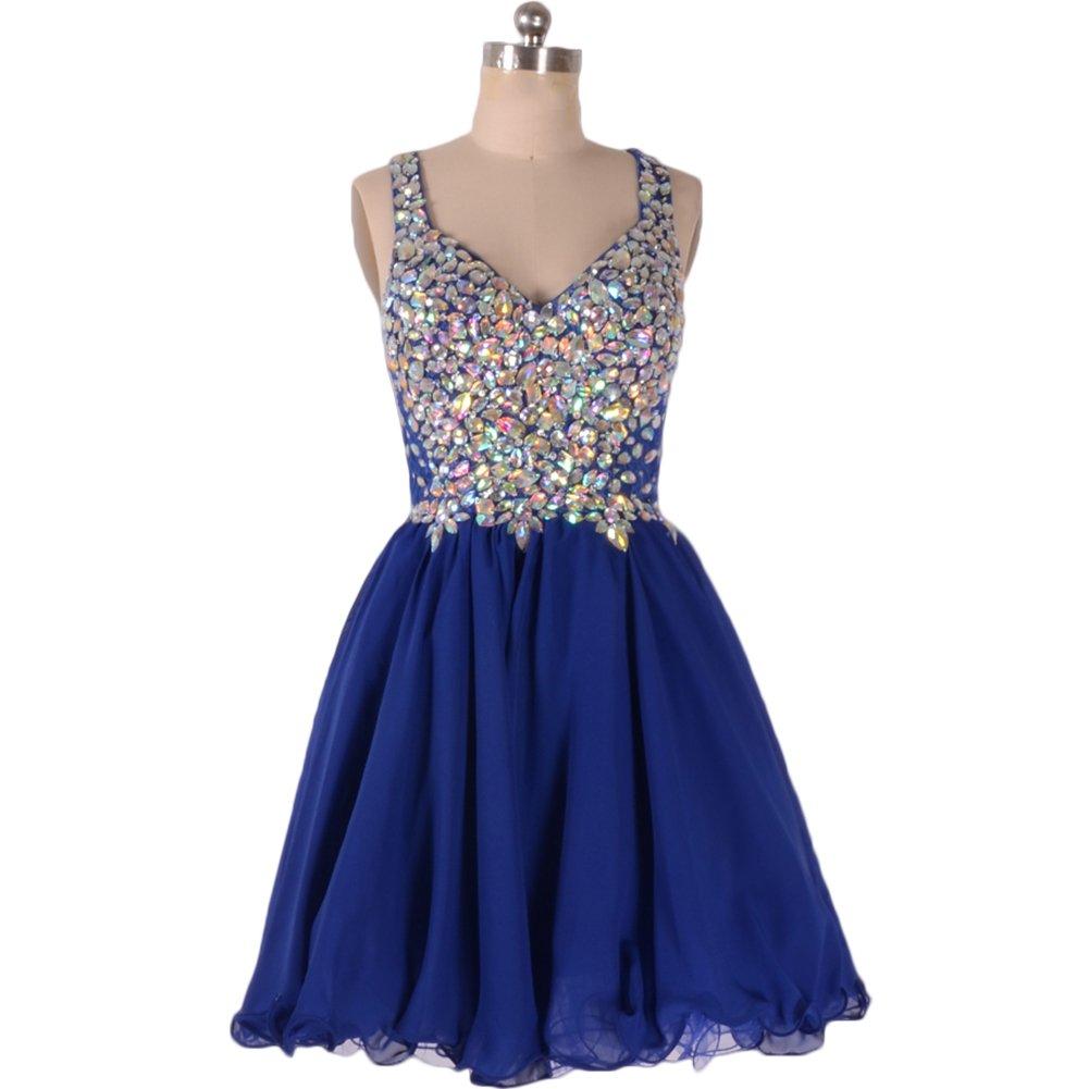 Dark Blue Graduation Dresses