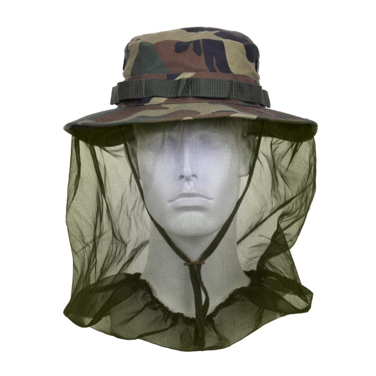 Rothco Boonie Hat with Mosquito Netting 613902583313