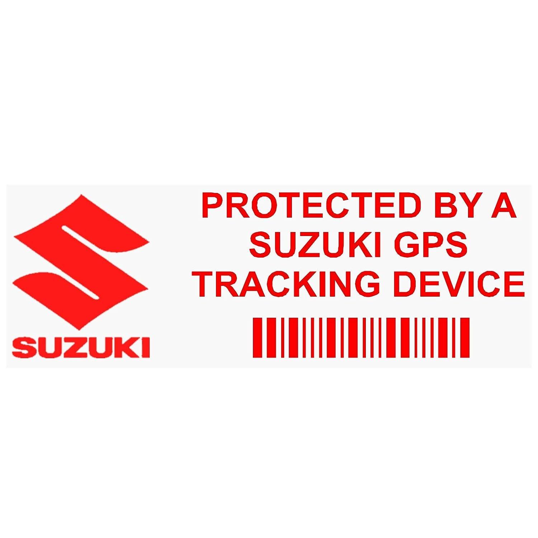5 x Ppsuzukigpsred GPS rosso dispositivo di tracciamento finestra adesivi 87, x, Van allarme Tracker Platinum Place
