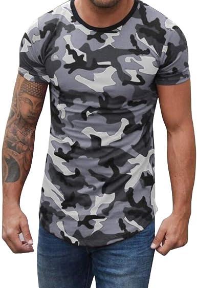 Camisetas Hombre Manga Corta La Camisa Basicas Algodon Blusa 2019 ...