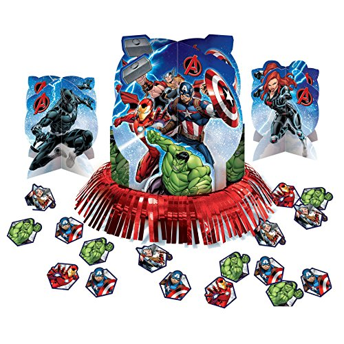 Avengers Table Decorating Kit]()
