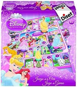 Princesas Disney - 2 en 1 parchís/oca diseño princesas Disney (Disney 46553)