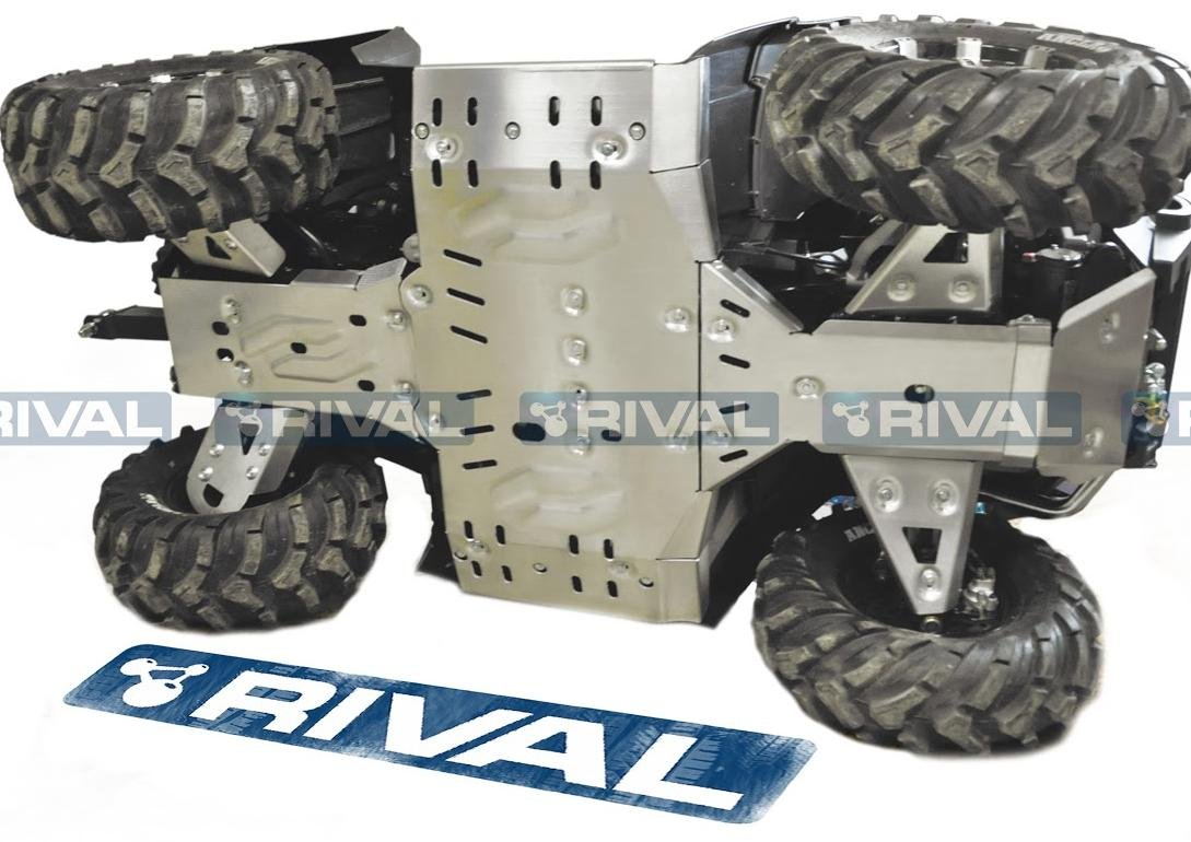 Amazon.com: Skid plate kit for ATV CFMOTO X8, CForce 800 2012-2016:  Automotive