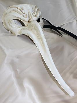 Máscara veneciana doctor de la peste negra para carnaval veneciano