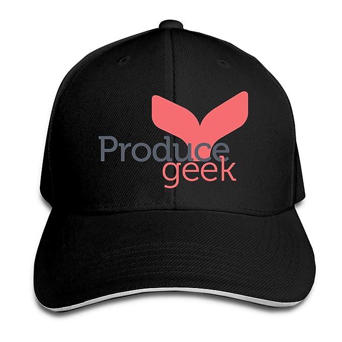 Amazon.com  Produce Geek Unisex Rock Cap Unisex Snapback Hats Sandwich Cap   Clothing 46770727a1e