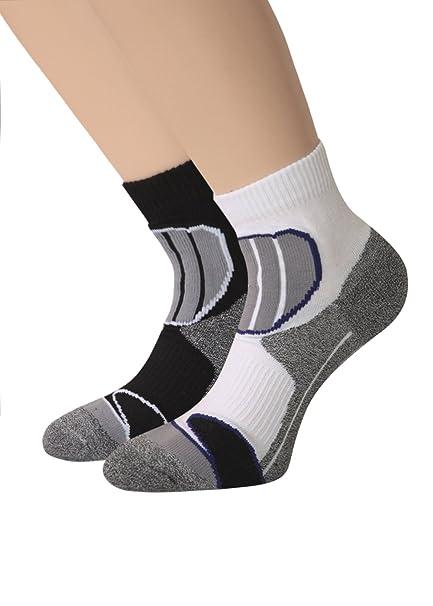 4 pares de calcetines Trekking Calcetines Deportivos Función - Calcetines cortos de mango: Amazon.es: Ropa y accesorios