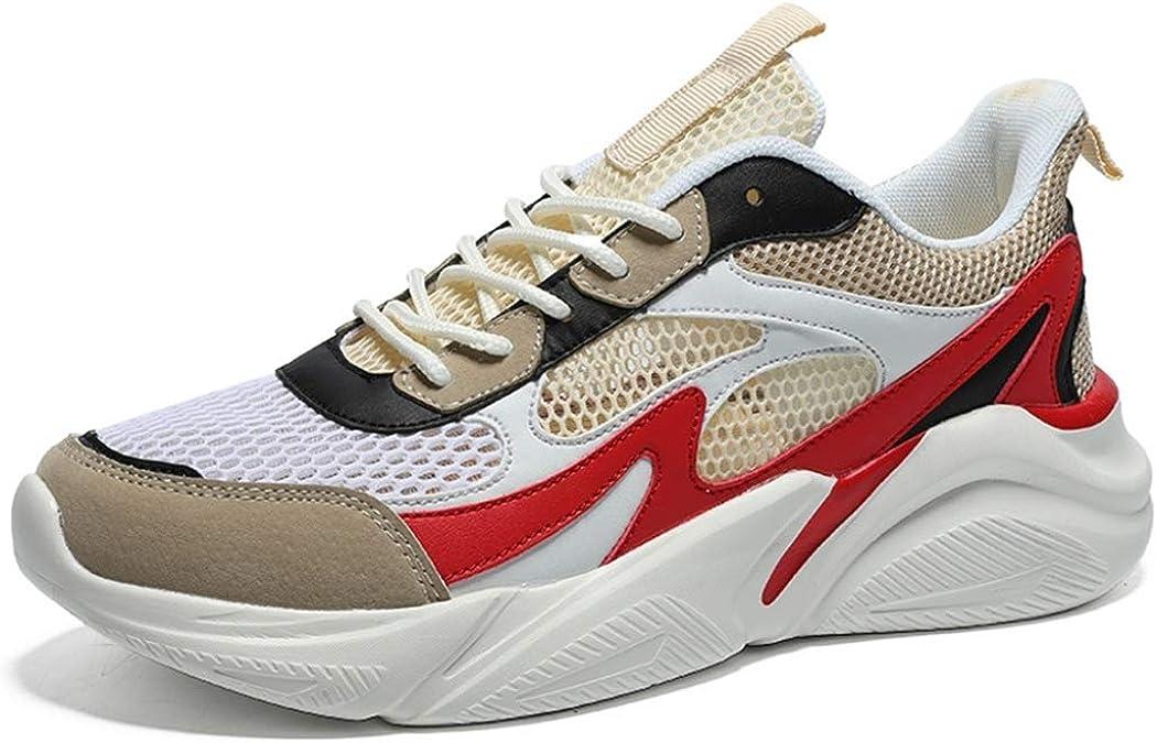 Zapatillas Deportivas de Hombre Mezclar Colores Zapatillas de Deporte Transpirables de Malla de Verano Zapatillas Deportivas Ligeras para Correr: Amazon.es: Zapatos y complementos