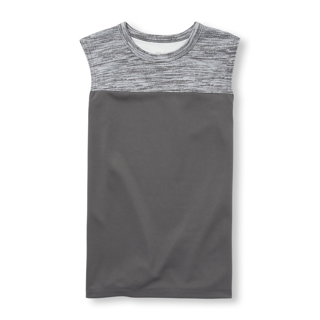 The Children's Place Big Boys' Short Sleeve Fashion T-Shirt, Sharkskin 97486, M (7/8) by The Children's Place (Image #1)
