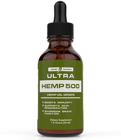 18db7228dd9 Amazon.com  Hemp Oil for Pain Relief - Full Spectrum Hemp Oil Helps ...