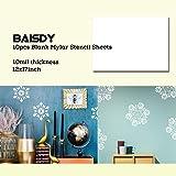 BAISDY 10Pcs Blank Mylar Stencil Sheets, 10Mil 12 x 17inch