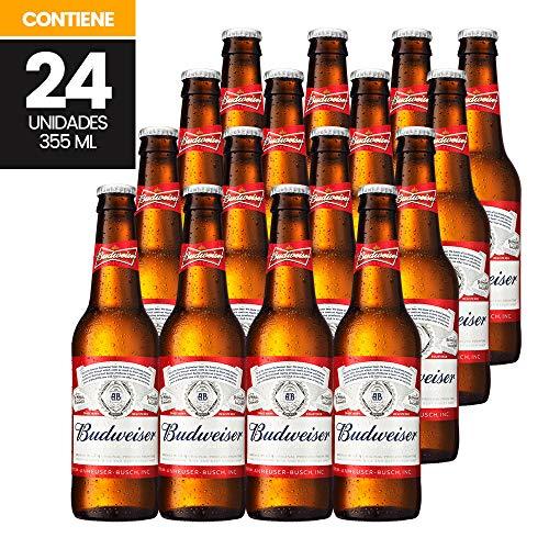 Cerveza Importada, Budweiser Classic, 24 piezas de 355 ml c/u