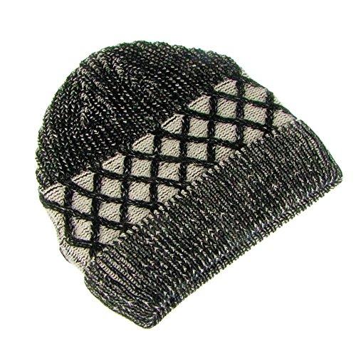Steve sombrero de de b921blk Diseño negro cruz punto xIXTwqA
