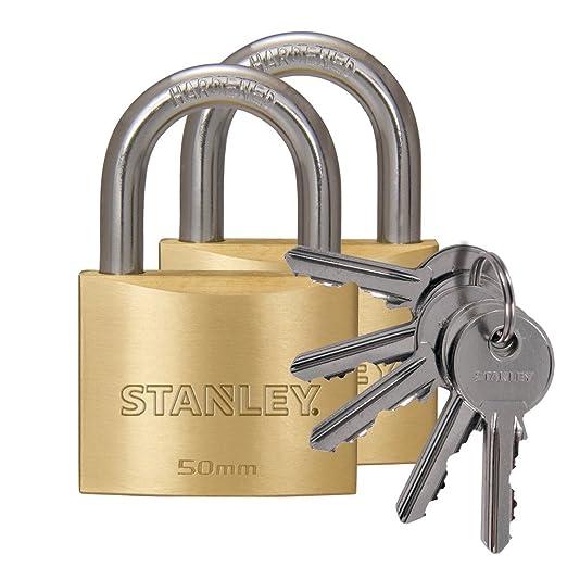 8 opinioni per Stanley 2 Lucchetti Arco Standard in