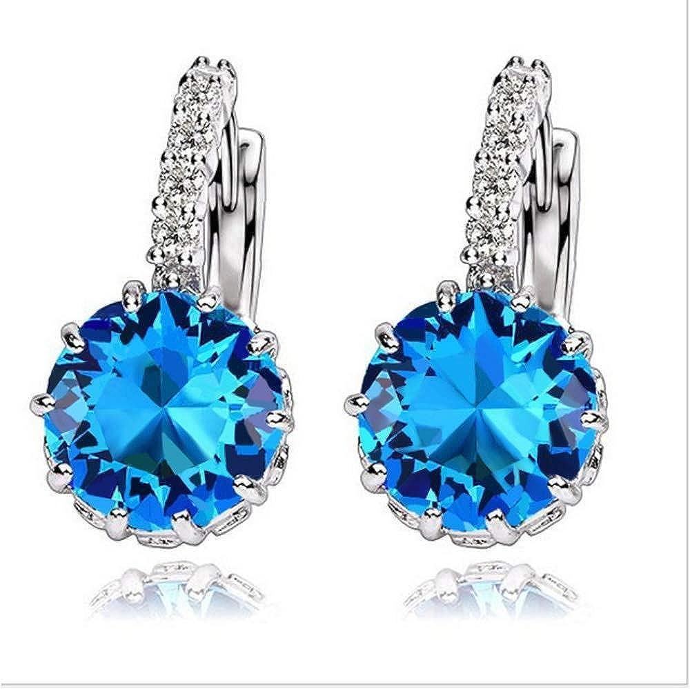 Pendientes Estilo De Moda Crystal Element Stud Para Mujeres Joyería De Declaración De Precios