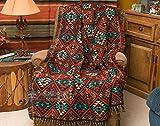 Mision Del Rey Southwest Jacquard Throw Blanket 50x60 -Sierra