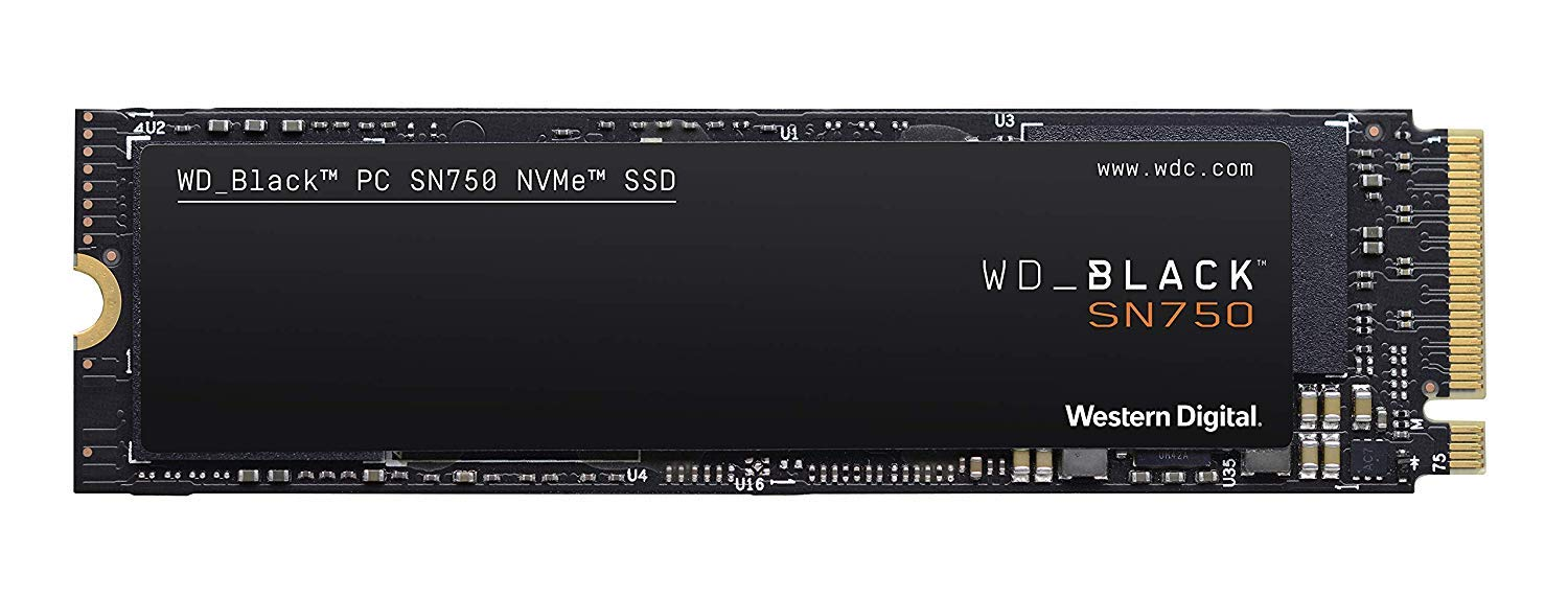 M.2 2280 500GB NVME WD_Black SN750 500GB NVMe Gaming Gen3 PC