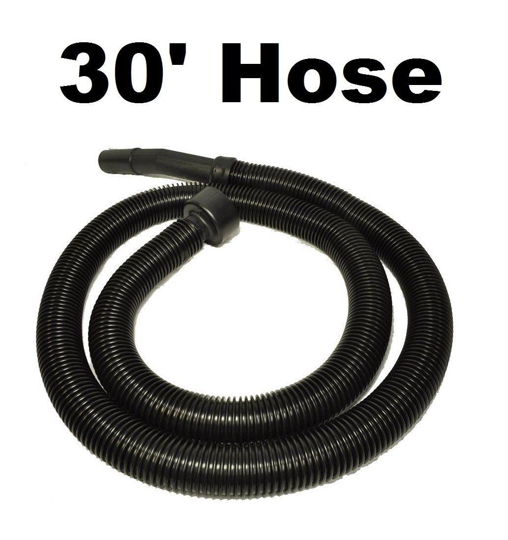 Pokin 30 Foot Vacuum Cleaner Hose 1 1/4 Diameter for Ridgid Craftsman Genie Shop Vac