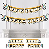 Big Dot of Happiness Personalized Set The Pace - Running - Custom Track, Cross Country or Marathon Party Bunting Banner & Decorations - Running Custom Banner