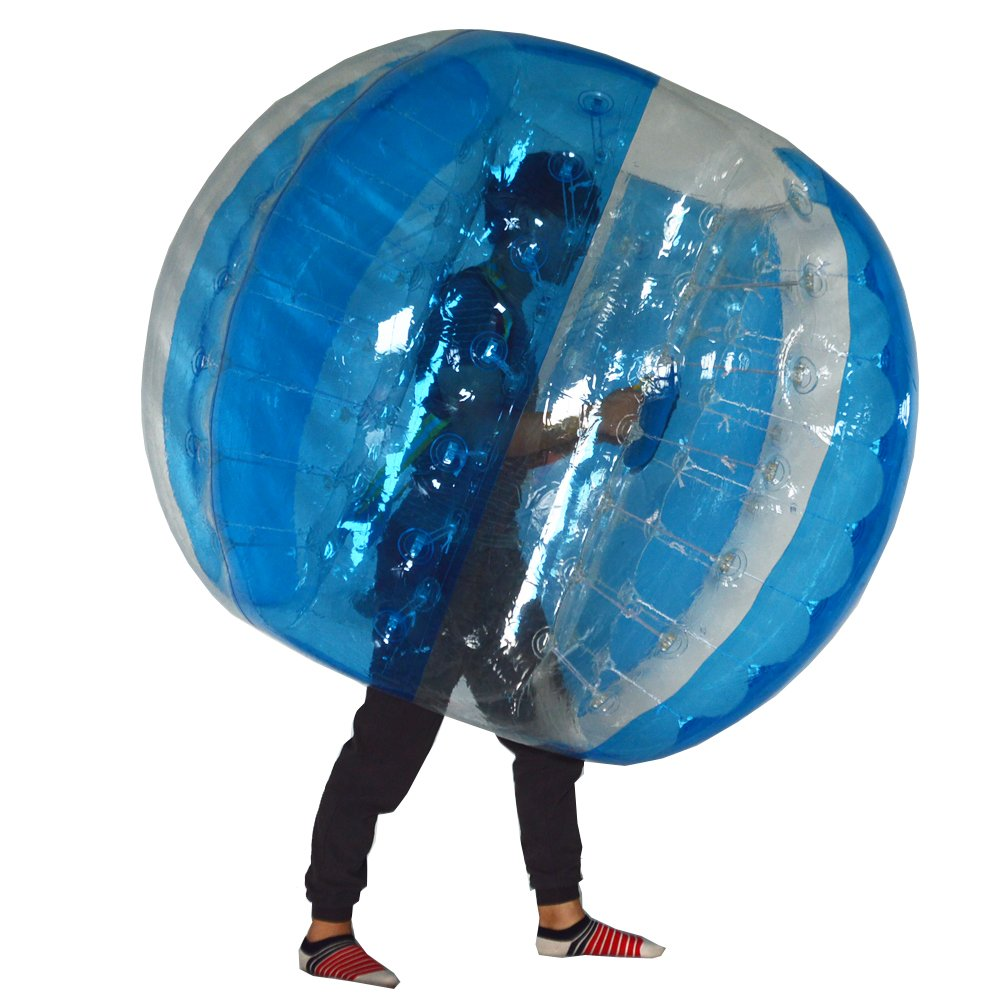 Sayok 1.5 M Inflatable Bubble Soccer Ball Bumper Ball for Kids and Adults