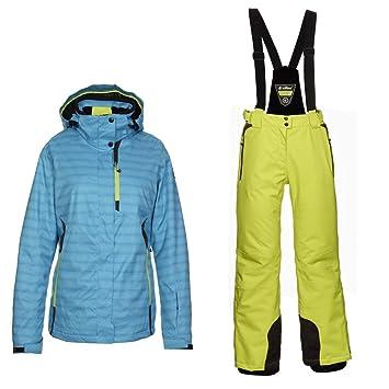 Killtec Skianzug 2 teilig Damen Frauen Damenskianzug Schneeanzug Wasserdicht