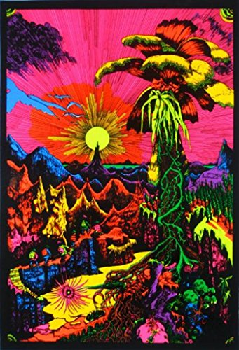 Landscape Black Light Posters