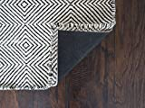 Rug Pad USA,9'x9' Square Non-Slip Rubber Rug