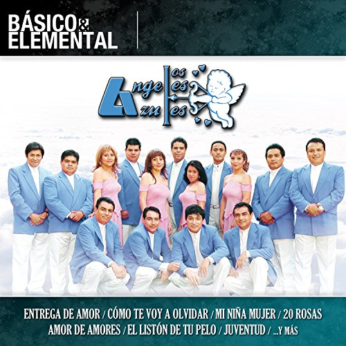 """Price comparison product image LOS ANGELES AZULES """"BASICO & ELEMENTAL"""" [2 CD's + 1 DVD]."""