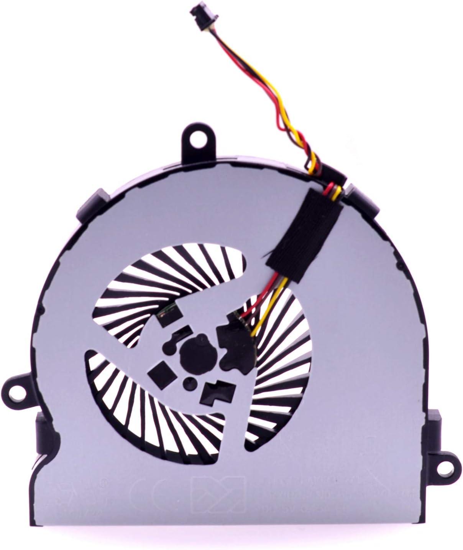 PartEGG 813946-001 Replacement CPU Cooling Fan for HP 15-AC 15-AY 15-AF 250 G4 255 G4 15-AFxxx 15-ACxxx DC28000GAF0
