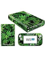 Nintendo Wii U Skin Design Foils Pegatina Set - Cannabis 5 Motivo