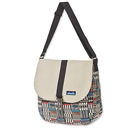 KAVU Wayfare Crossbody Boho Bag Lightweight Canvas Bohemian Tote - Pattern  Stack cc672ef23692c