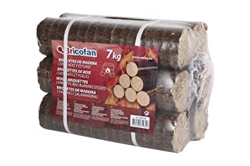 Cofan 43050106 Briquetas de madera 7 Kgs: Amazon.es ...