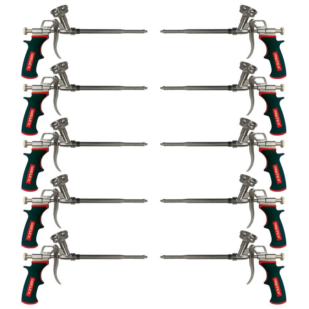 PU Schaumpistole 10 Stü ck Pistole fü r Pistolenschaum Bauschaumpistole Montageschaumpistole PRITEX®