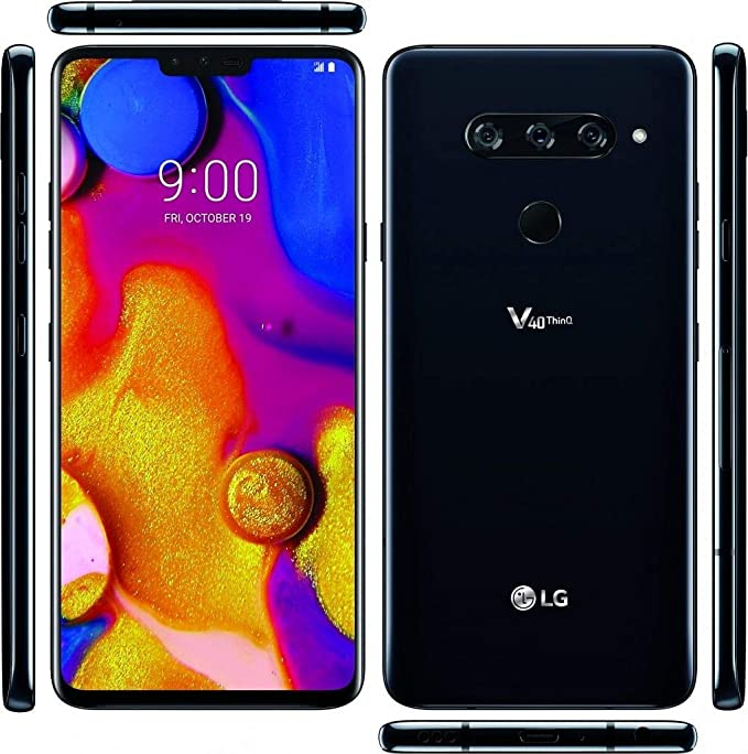 LG V40 ThinQ - Disco duro externo (64 GB), color negro: Amazon.es ...