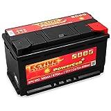 ECTIVE 100Ah 870A EPC-Serie 12V Autobatterie in 8 Varianten: 46Ah - 100Ah (wartungsfrei)