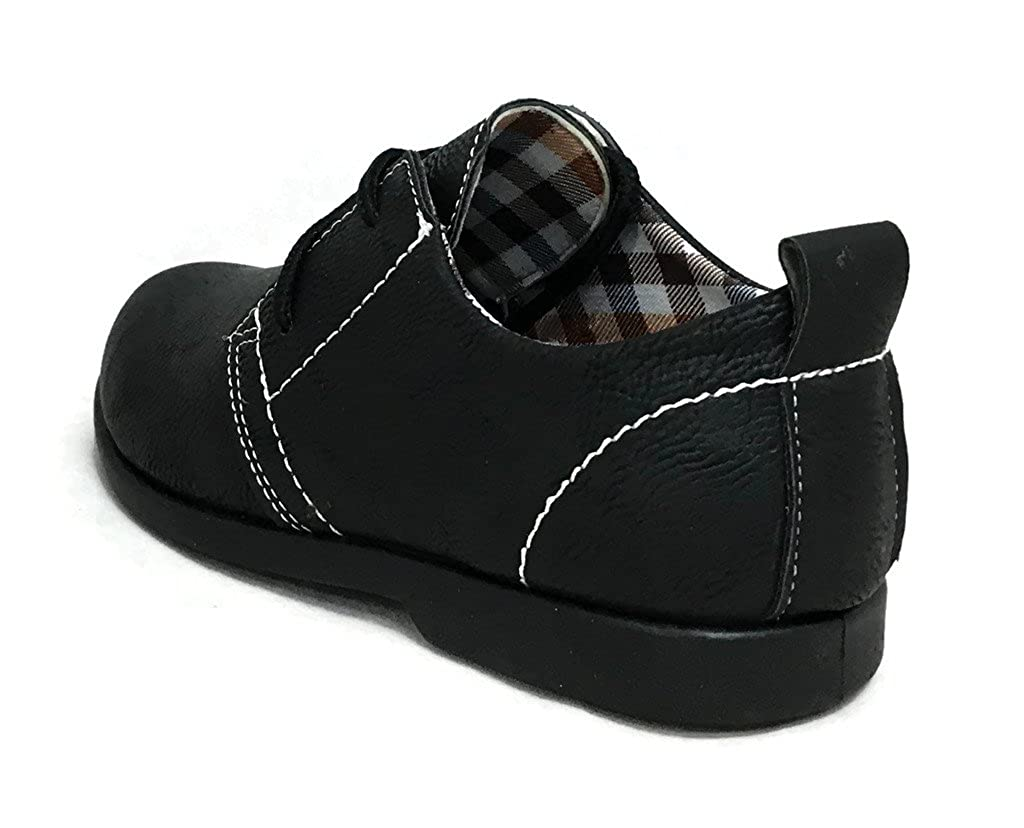 5b48f8cf70f03 Steven Ella Boys Youth Classic Faux Leather Boat Dress Shoes Lace-up  Oxfords  Amazon.ca  Shoes   Handbags