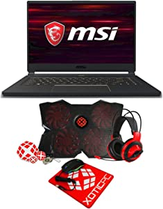 "MSI Enthusiast GS65 Stealth 15.6"" FHD 144Hz Intel Core i7 9th Gen 9750H (2.60 GHz) GeForce GTX 1660 Ti 64GB Memory 2TB 970 EVO Plus NVMe SSD Windows 10 Home 64-bit 1668 Gaming Laptop"